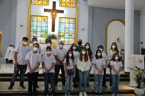 1º Eucaristia 27-06-2021
